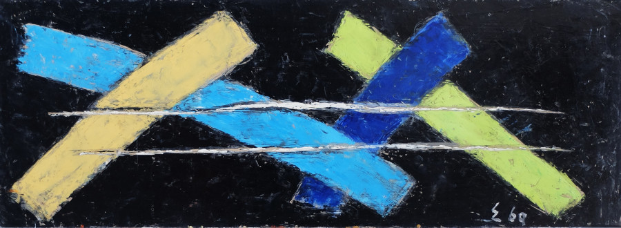"""<span class=""""artist""""><strong>Elie Borgrave</strong></span>, <span class=""""title"""">Untitled, 1969</span>"""
