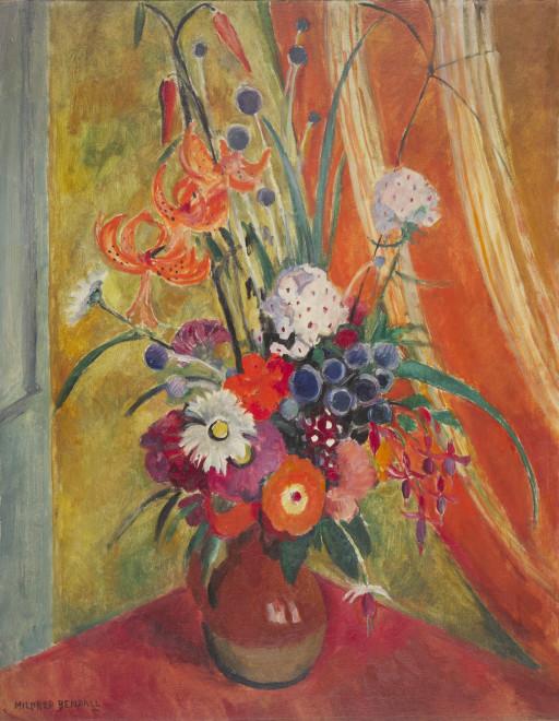 "<span class=""artist""><strong>Mildred Bendall</strong></span>, <span class=""title""><em>Tigerlilies</em>, C. 1928</span>"
