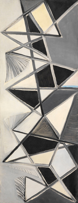 "<span class=""artist""><strong>Caziel</strong></span>, <span class=""title""><em>WC345 - Abstract Composition</em>, c. 1948</span>"