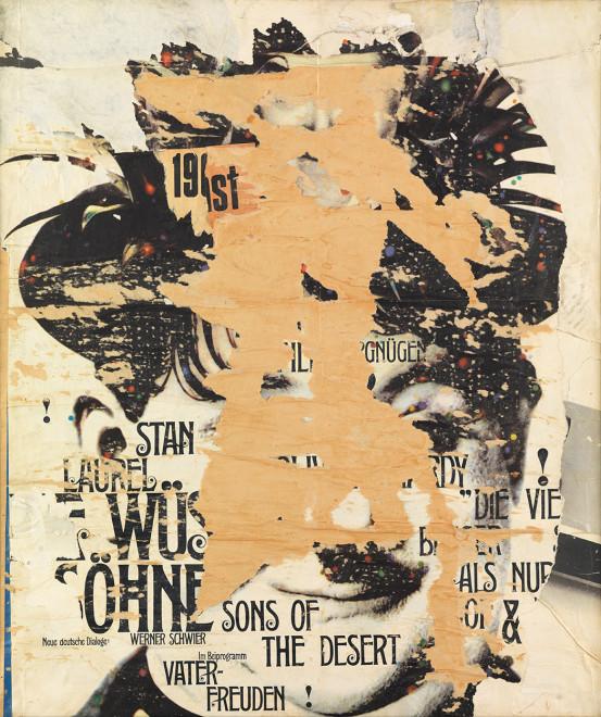 "<span class=""artist""><strong>Reinhold Koehler</strong></span>, <span class=""title""><em>Stan and Laurel, 1965-9</em>, c.1965</span>"