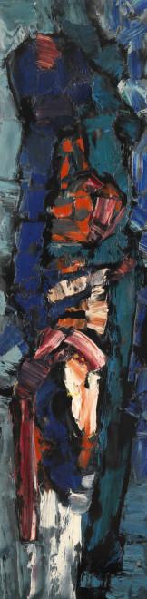 <span class=&#34;artist&#34;><strong>Frank Avray Wilson</strong></span>, <span class=&#34;title&#34;><em>FAW807 - Arising</em>, 1957</span>