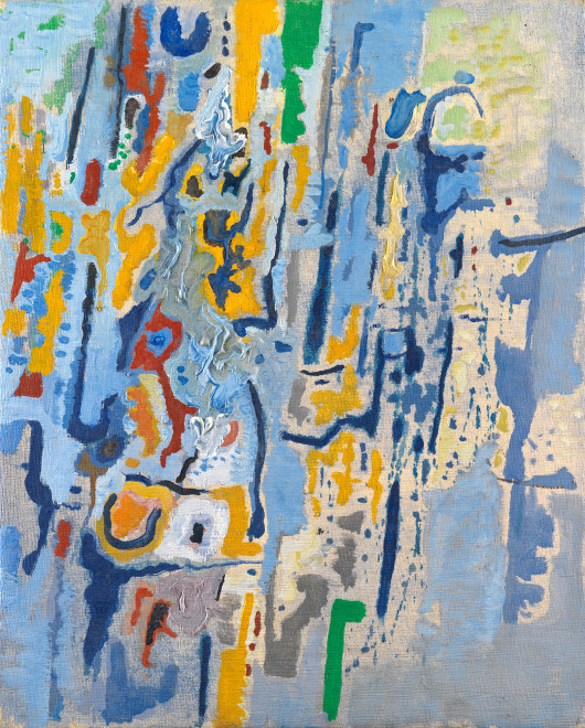 "<span class=""artist""><strong>Caziel</strong></span>, <span class=""title""><em>WC765 - Composition XI/1965</em>, 1965</span>"