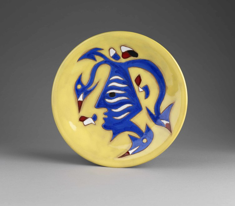 Plate - Yellow - Jester