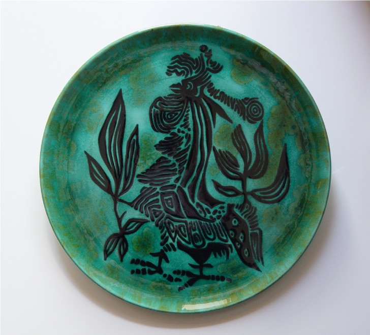 Plate - Green - Combatant