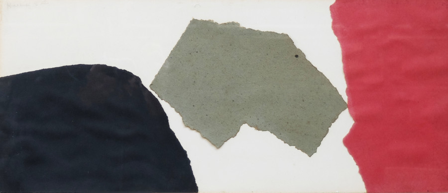 """<span class=""""artist""""><strong>James Hull</strong></span>, <span class=""""title""""><em>Abstract Composition</em>, 1954</span>"""