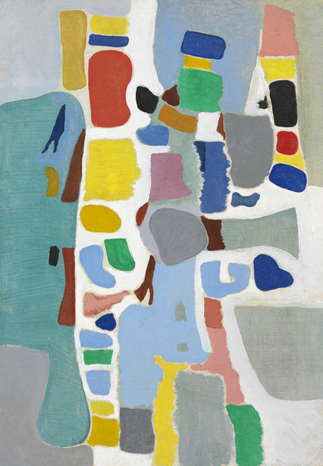 "<span class=""artist""><strong>Caziel</strong></span>, <span class=""title""><em>WC776 - Composition 1967.3 (Pataraqa)</em>, 1967</span>"