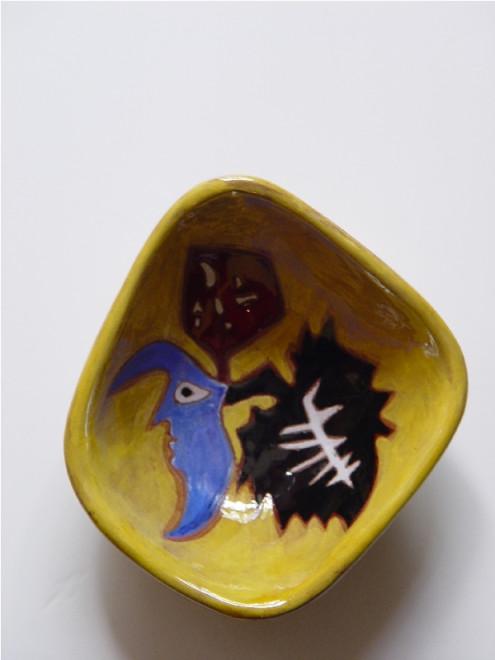 Bowl - Vide Poche - Yellow - Blue Moon
