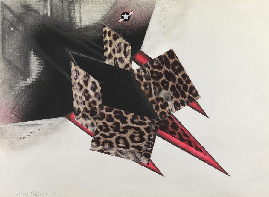Study for a Leopardskin Nuclear Bomber