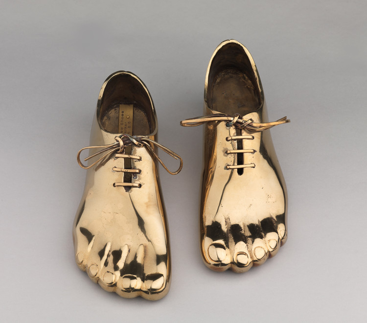 """<span class=""""artist""""><strong>Clive Barker</strong></span>, <span class=""""title""""><em>Magritte's New Shoes</em>, 2016</span>"""