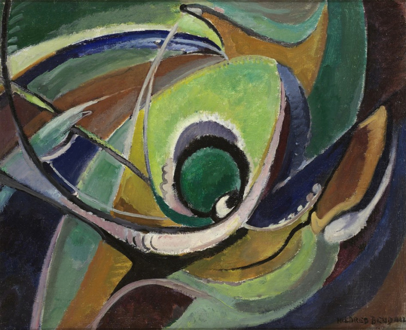 """<span class=""""artist""""><strong>Mildred Bendall</strong></span>, <span class=""""title""""><em>Sea Forms</em>, c. 1950</span>"""
