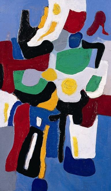 "<span class=""artist""><strong>Caziel</strong></span>, <span class=""title""><em>WC553 - Composition 03.08.1967</em>, 1967</span>"