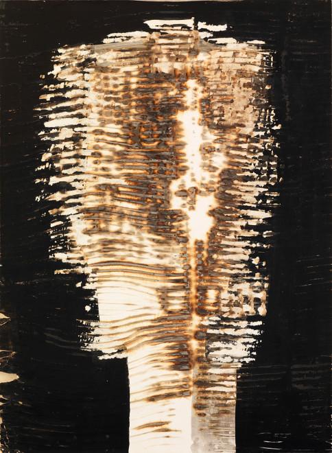 "<span class=""artist""><strong>Reinhold Koehler</strong></span>, <span class=""title""><em>Décollage Pur et Brûlé</em>, (1961)</span>"