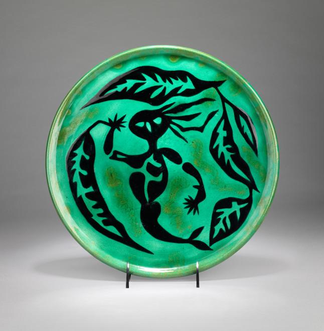 Plate - Green - Ondine