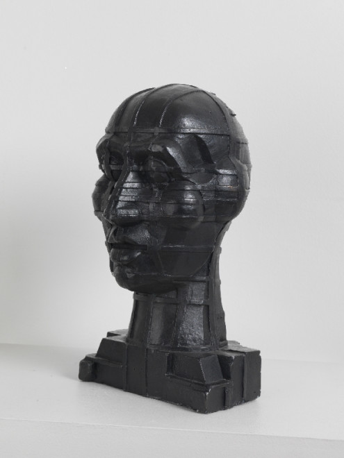 "<span class=""artist""><strong>Sir Eduardo Paolozzi, RA</strong></span>, <span class=""title""><em>Head</em>, 1996</span>"