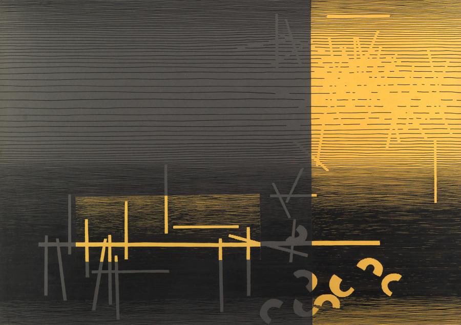 """<span class=""""artist""""><strong>Michel Seuphor</strong></span>, <span class=""""title""""><em>Intermède</em>, 1959</span>"""