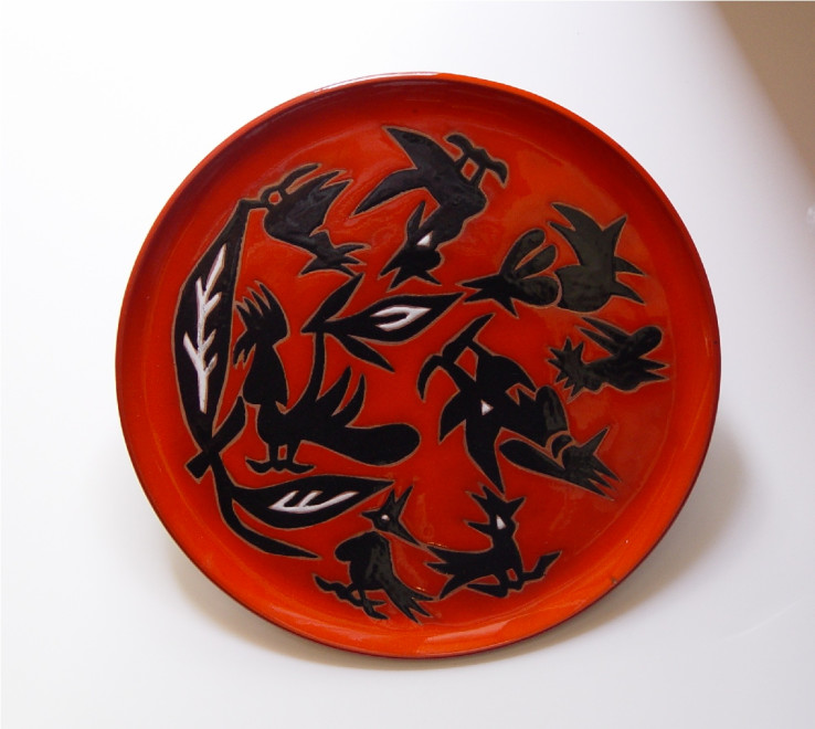 Plate - Red - Rendez-vous