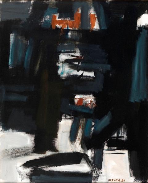 "<span class=""artist""><strong>Georges Bernède</strong></span>, <span class=""title""><em>C009 - Composition 84 - 24</em>, 1984</span>"