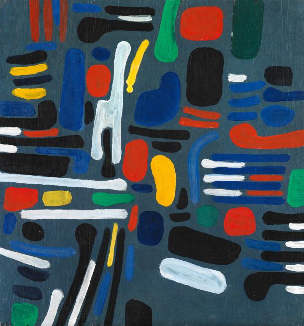 <span class=&#34;artist&#34;><strong>Caziel</strong></span>, <span class=&#34;title&#34;><em>WC773 - Composition 1967/1</em>, 1967</span>
