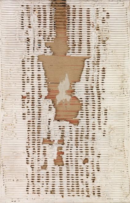 "<span class=""artist""><strong>Reinhold Koehler</strong></span>, <span class=""title""><em>Décollage materiel</em>, 1961</span>"