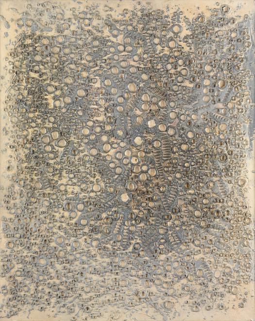 """<span class=""""artist""""><strong>Reinhold Koehler</strong></span>, <span class=""""title""""><em>Sandbild 1961 IX</em>, 1961</span>"""