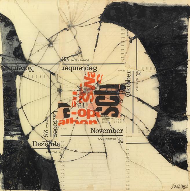 "<span class=""artist""><strong>Reinhold Koehler</strong></span>, <span class=""title""><em>Figur SCH , Contre-Collage</em>, 1968</span>"