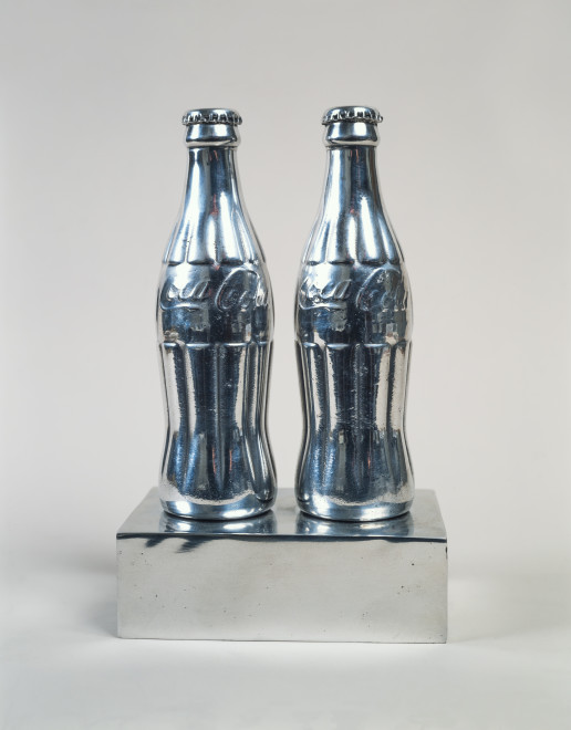 """<span class=""""artist""""><strong>Clive Barker</strong></span>, <span class=""""title""""><em>Twin Cokes</em>, 1968</span>"""
