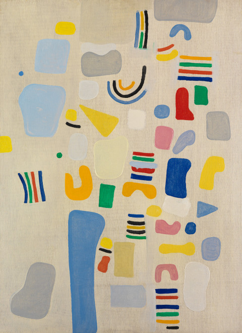 "<span class=""artist""><strong>Caziel</strong></span>, <span class=""title""><em>WC780 - Composition 1967.V</em>, 1967</span>"