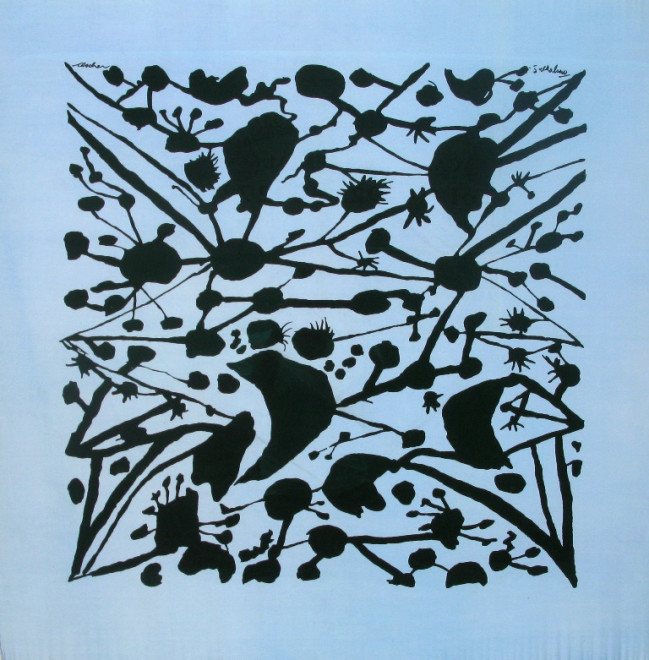 "<span class=""artist""><strong>Graham Sutherland</strong></span>, <span class=""title""><em>Black Trellis</em>, 1947</span>"