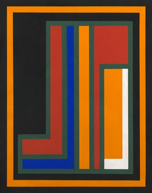 "<span class=""artist""><strong>Guy Vandenbranden</strong></span>, <span class=""title""><em>Abstract Composition</em>, c. 1973</span>"