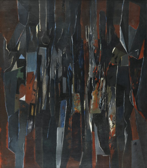 <span class=&#34;artist&#34;><strong>Caziel</strong></span>, <span class=&#34;title&#34;><em>WC661 - Abstract Composition</em>, 1965</span>