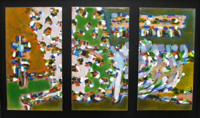 """<span class=""""artist""""><strong>Stefan Knapp</strong></span>, <span class=""""title""""><em>Triptych</em>, 1956</span>"""