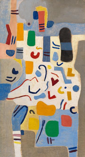 <span class=&#34;artist&#34;><strong>Caziel</strong></span>, <span class=&#34;title&#34;><em>WC777 - Composition (Pesto)</em>, 1967</span>