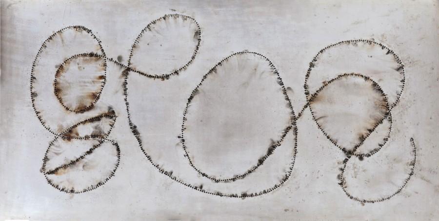 <span class=&#34;artist&#34;><strong>Bernard Aubertin</strong></span>, <span class=&#34;title&#34;><em>Tableau Feu</em>, 1968</span>
