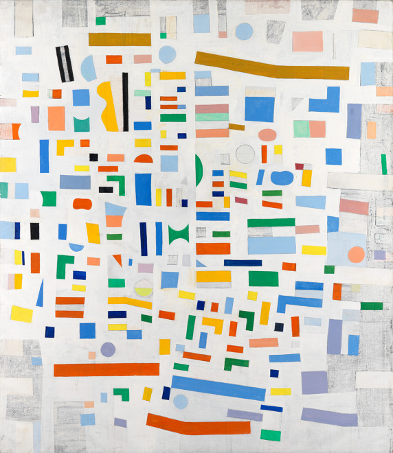 <span class=&#34;artist&#34;><strong>Caziel</strong></span>, <span class=&#34;title&#34;><em>WC649 - Abstract Composition</em>, 1967</span>