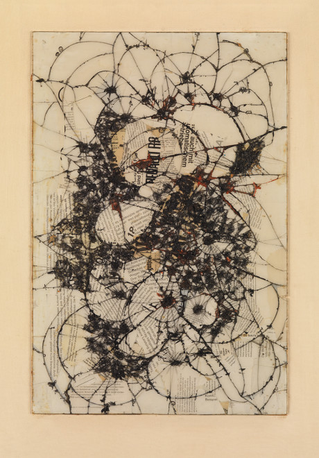 """<span class=""""artist""""><strong>Reinhold Koehler</strong></span>, <span class=""""title""""><em>Thorax Fragment, Contre-Collage</em>, 1963</span>"""
