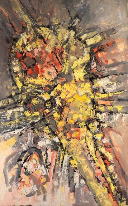 """<span class=""""artist""""><strong>Frank Avray Wilson</strong></span>, <span class=""""title""""><em>FAW799</em>, 1957</span>"""