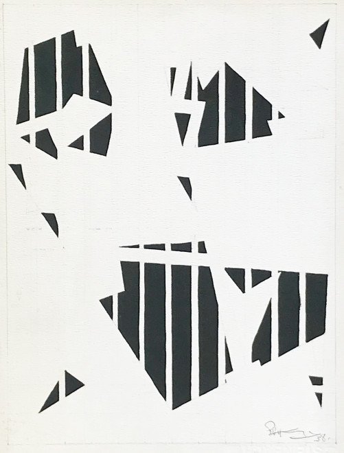 "<span class=""artist""><strong>Paul Van Hoeydonck</strong></span>, <span class=""title""><em>PVH062 - Composition</em>, 1957</span>"