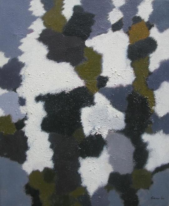 <span class=&#34;artist&#34;><strong>William Gear RA</strong></span>, <span class=&#34;title&#34;><em>Landscape Study</em>, 1960</span>
