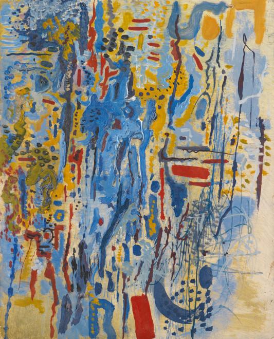 <span class=&#34;artist&#34;><strong>Caziel</strong></span>, <span class=&#34;title&#34;><em>WC607 - Composition</em>, 1965</span>