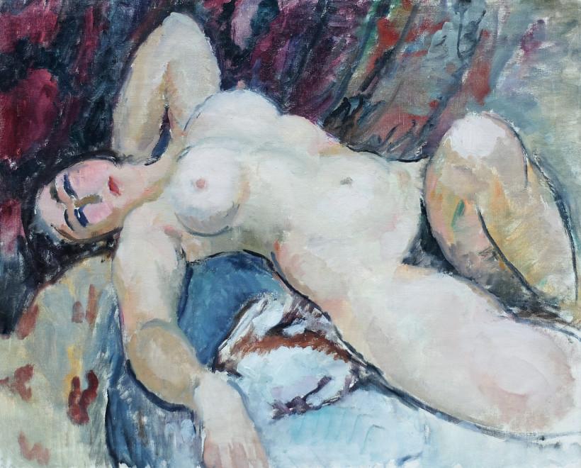 La femme dénudée
