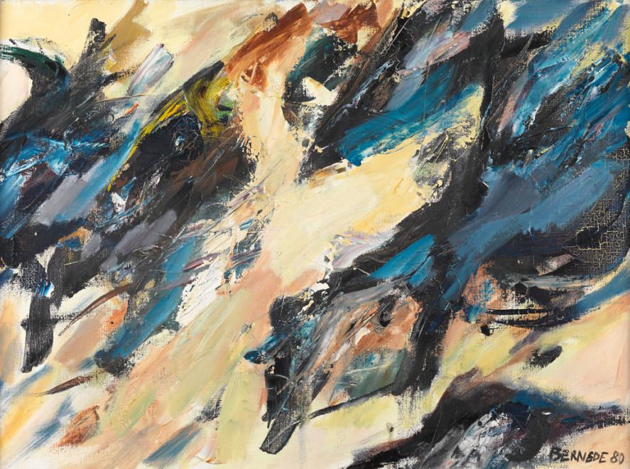 "<span class=""artist""><strong>Georges Bernède</strong></span>, <span class=""title""><em>C034 - Composition 80 - 32</em>, 1980</span>"