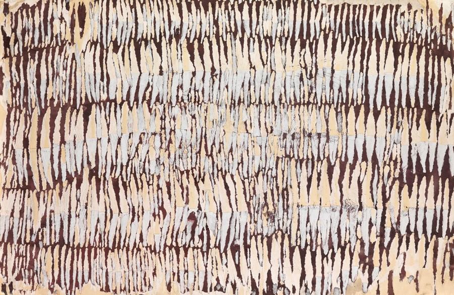 "<span class=""artist""><strong>Reinhold Koehler</strong></span>, <span class=""title""><em>Décollage Positiv-Negativ</em>, 1961</span>"