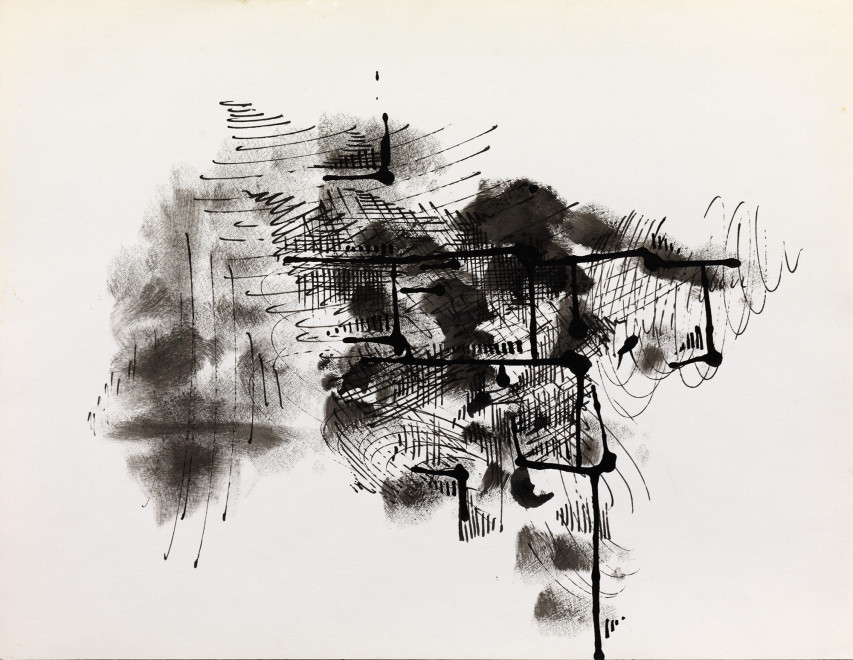 "<span class=""artist""><strong>Paul Van Hoeydonck</strong></span>, <span class=""title""><em>PVH064 - Composition</em>, 1961</span>"