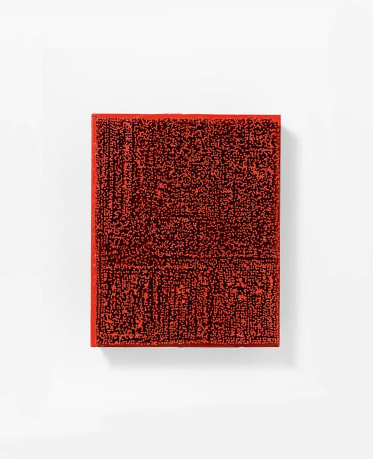 """<span class=""""artist""""><strong>Bernard Aubertin</strong></span>, <span class=""""title""""><em>Tableau Clous</em>, 1963</span>"""