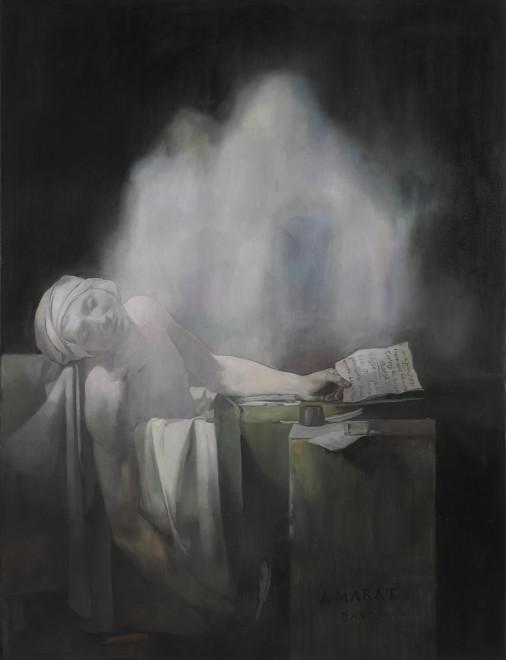 Wolfe von Lenkiewicz, Death of Marat, 2016