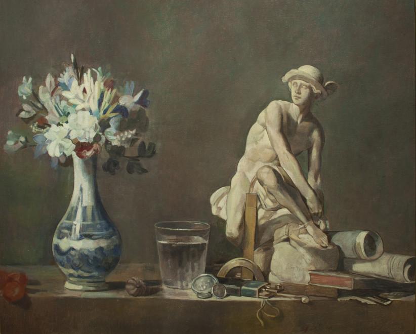 Wolfe von Lenkiewicz, Recomposing Chardin, 2013