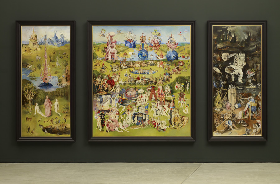 Wolfe von Lenkiewicz, The Garden of Earthly Delights, 2012