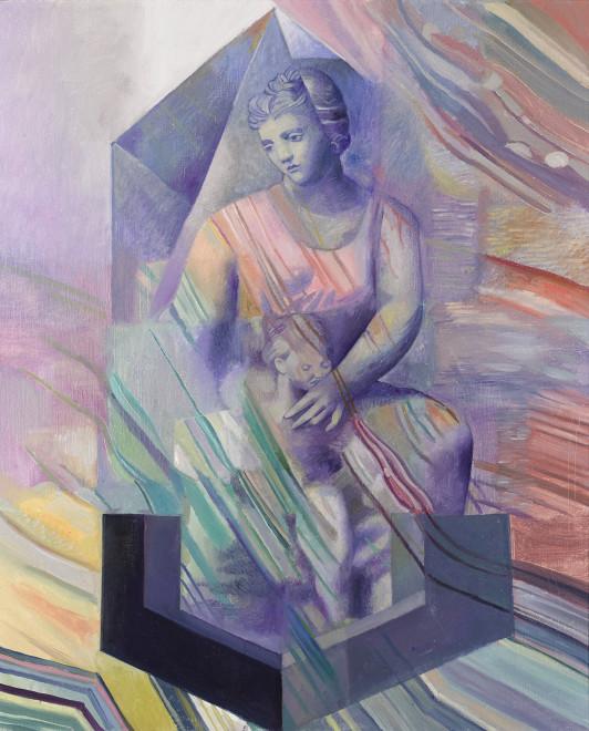 Wolfe von Lenkiewicz, Blue Madonna, 2017