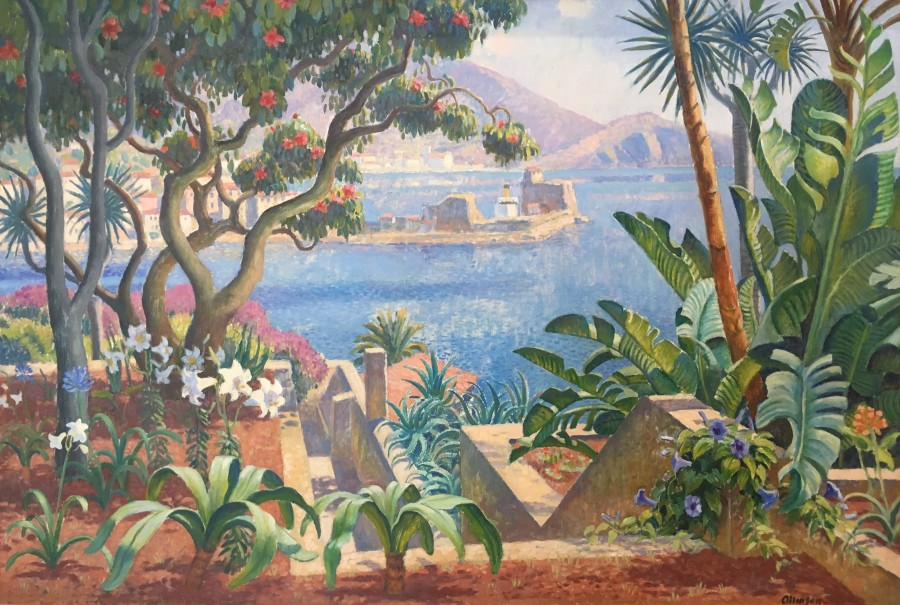 ADRIAN ALLINSON (1890-1959)  VIEW FROM THE REID'S HOTEL, MADEIRA.  SOLD