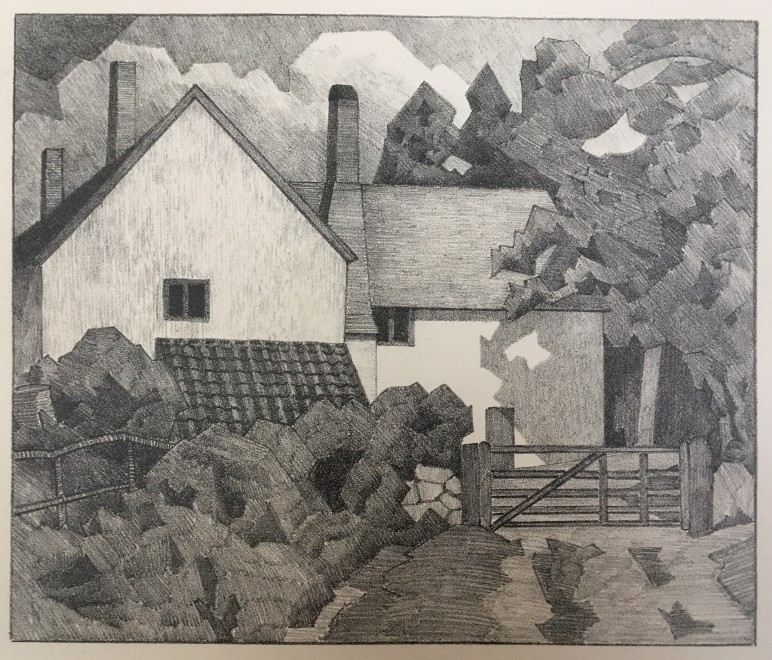 ROBERT BEVAN (1865-1925)  HARTS FARM, CLAYHIDON, 1919